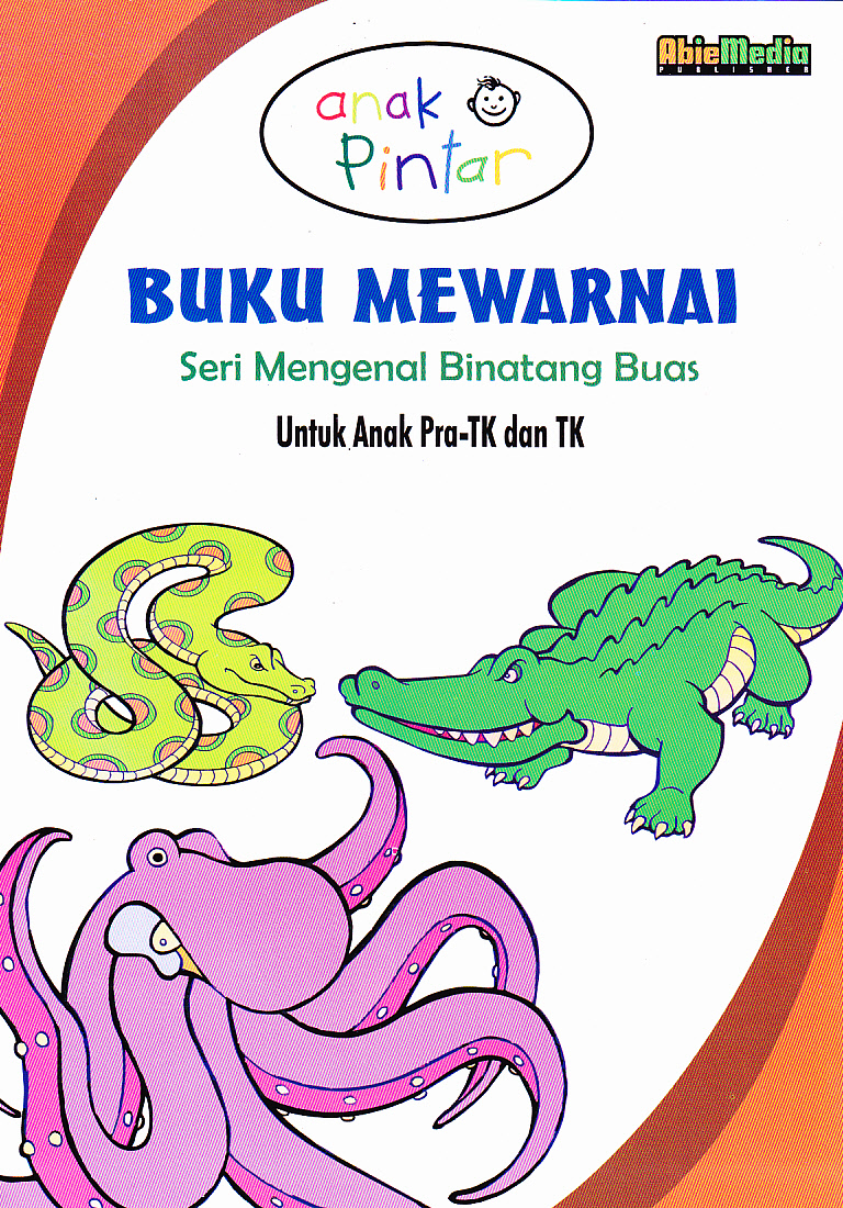 Anak Anak BUKU MEWARNAI SERI MENGENAL BINATANG BUAS Buku